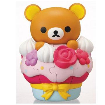 3D立體拼圖 KM-52拉拉熊 杯子蛋糕 新包裝VER.
