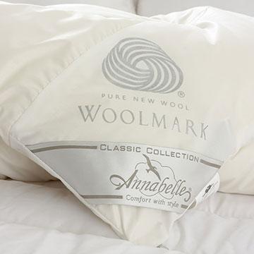 Annabelle-100%澳洲國際羊毛局認證羊毛被-2.4kg