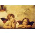 《小天使(遐思)》拉斐爾名畫