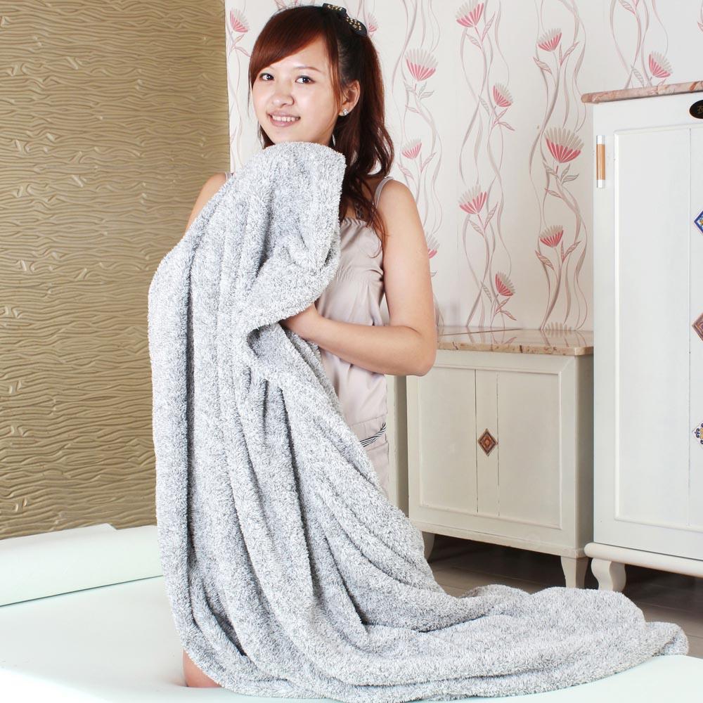 【源之氣】竹炭超細纖維四季毯150*180cm/ 5*6尺 RM-10378