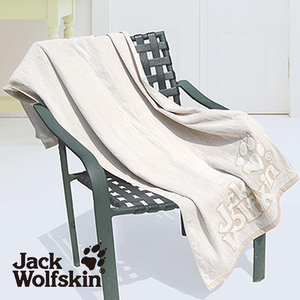 【采棉居寢飾文化館】Jack Wolfskin抗菌剪絨浴巾