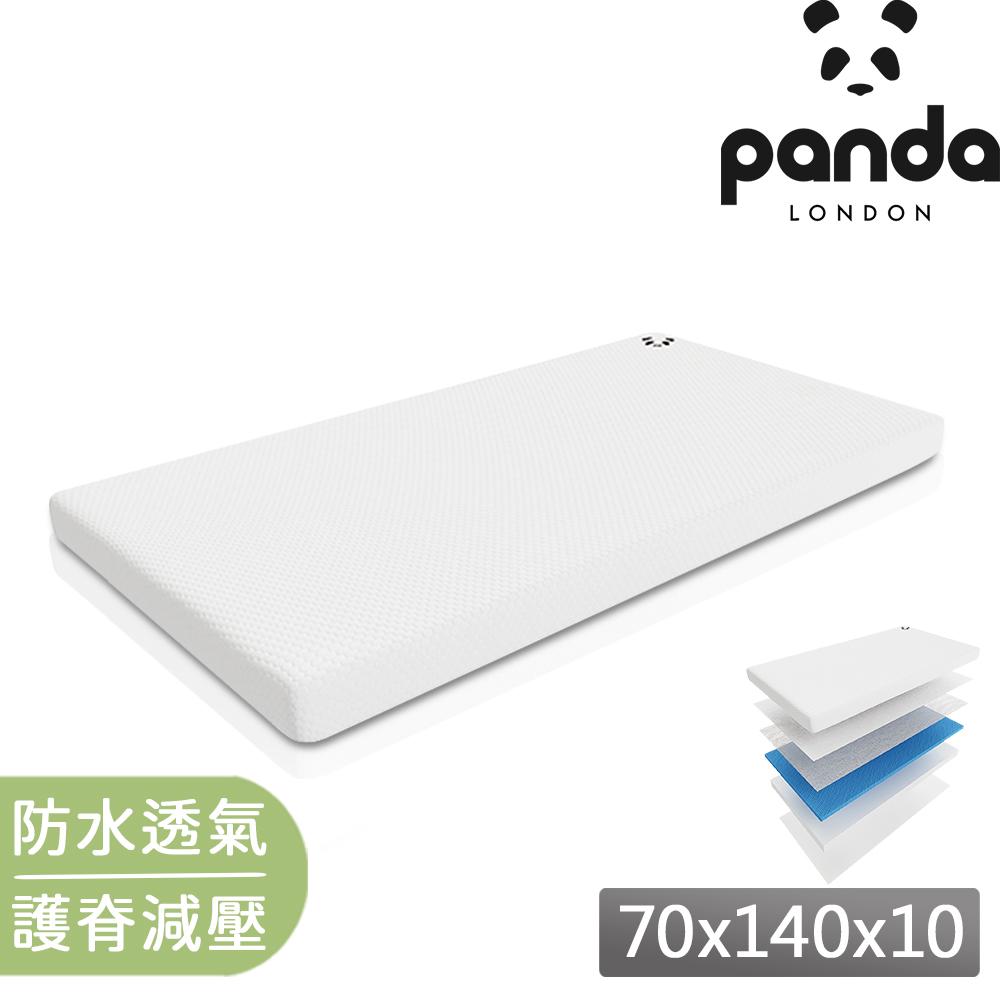 【英國Panda】70x140x10 六層式設計 竹纖維表層抗菌排濕(Hydro Foam 涼感控溫 透氣好眠)