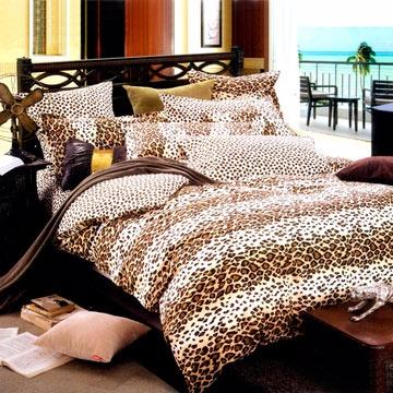 Chez moi 【迷戀奢華】MIT 雙人精梳棉被套床包四件組