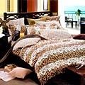Chez moi 【迷戀奢華】MIT 加大精梳棉被套床包四件組