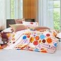 Chez moi 【香草舒芙里】MIT 雙人精梳棉被套床包四件組