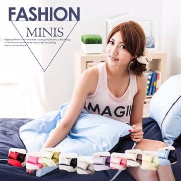 Domo 素色雙色系 靜謐深藍 雙人床包枕套三件組 100%精梳棉 台灣製
