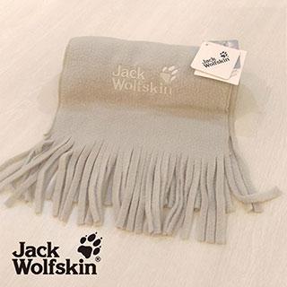 【采棉居寢飾文化館】Jack Wolfskin飛狼抗菌圍巾