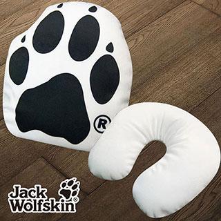 【采棉居寢飾文化館】Jack Wolfskin造型顆粒護頸枕