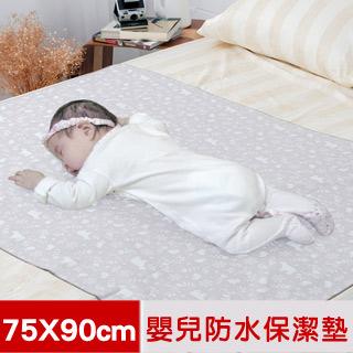 【米夢家居】台灣製造-全方位超防水止滑保潔墊/生理墊/尿布墊(75x90cm)-北極熊