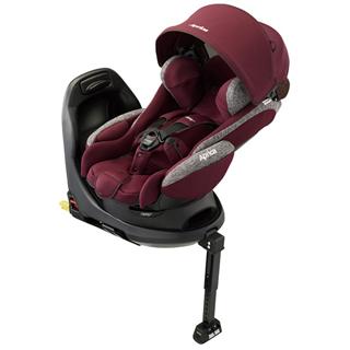 日本 Aprica 愛普力卡 平躺型嬰幼兒汽車安全臥床椅 FLADEA GROW ISOFIX (赤霞珠 RD)