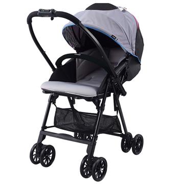 Combi Neyo 輕量雙向嬰兒手推車-冷豔灰