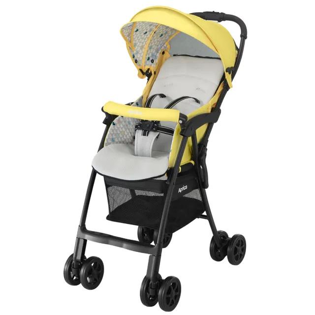 Aprica 愛普力卡 挑高型超輕量單向嬰幼兒手推車 magical air Plus-檸檬黃