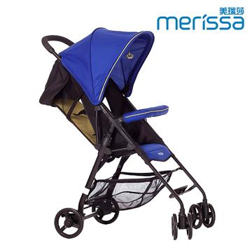 Merissa 美瑞莎 BX-11 可登機收納嬰幼兒推車(湖水藍)