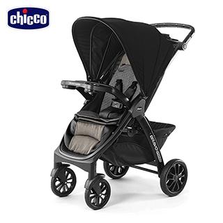 【chicco】Bravo極致完美手推車特仕版-典藏醇黑+KeyFit 手提汽座-深邃灰