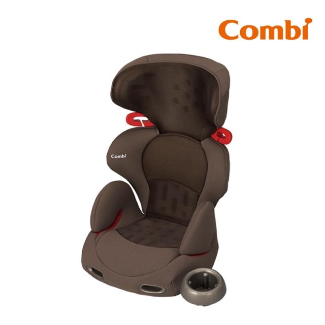 Combi New Buon Junior 成長型汽車安全座椅 網眼棕