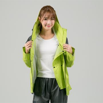 BrightDay犀力兩件式風雨衣-草綠