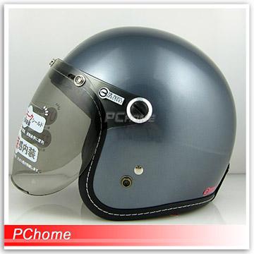 【GP5 326 圓弧鏡 安全帽 】法國灰、內襯全可拆洗
