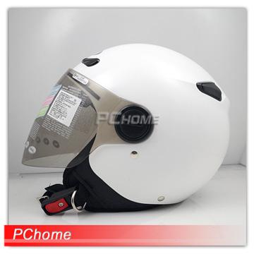 【ZEUS瑞獅 安全帽 ZS-210BC  素色 飛行帽 半罩】雙層鏡片、內襯全可拆洗