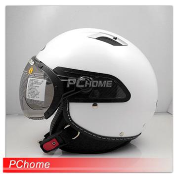 【ZEUS 瑞獅 ZS-212C 白 素色 安全帽 】內襯全可拆洗、雙層鏡片