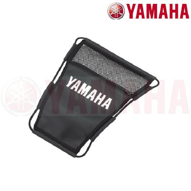 YAMAHA原廠機車座墊內置物袋-拉鍊網袋(CUXI115 FS115)