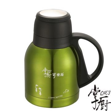【掌廚】可樂膳響客超真空保溫壺(綠 700cc)