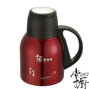 【掌廚】可樂膳響客超真空保溫壺(紅 700cc)