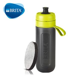 德國BRITA Fill&Go Active 運動濾水瓶_綠色【內含濾片*1】