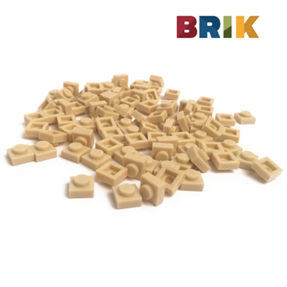 美國Brik 積木組- 軍綠色
