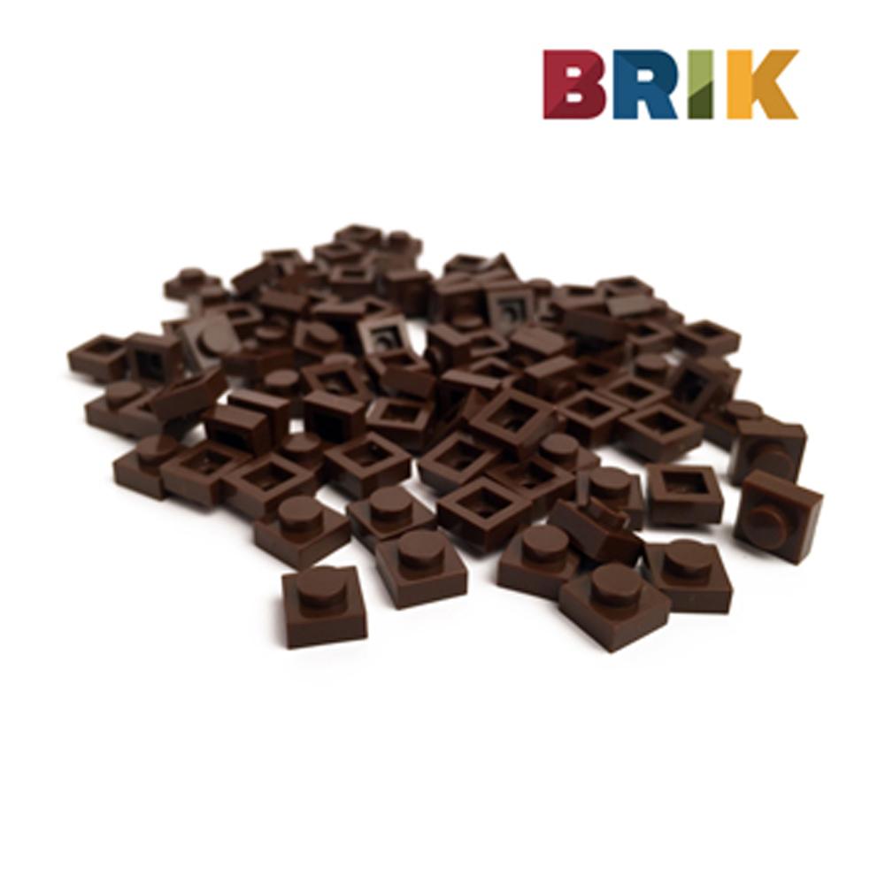 美國Brik 積木組- 咖啡色