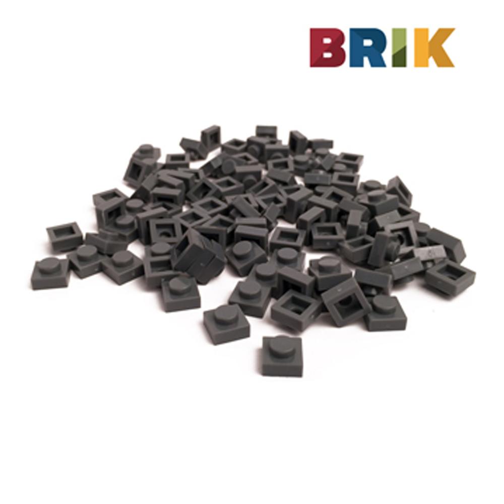 美國Brik 積木組- 深灰色