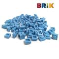 美國Brik 積木組- 淺藍色