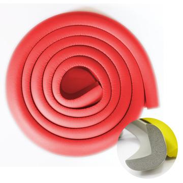 【BabyTiger虎兒寶】加厚L型居家安全防撞條(200CM*1入-紅色)