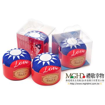 【MGHD】愛台灣國旗蛋糕毛巾-2入組
