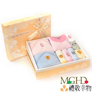【MGHD】毛巾小偶彌月禮盒