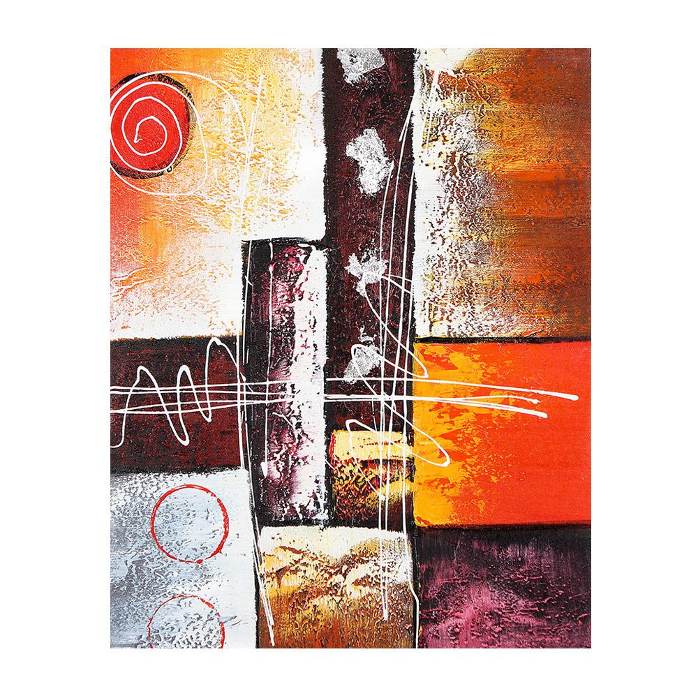【御畫房】《春風得意》 手繪油畫-40*50cm無框掛畫