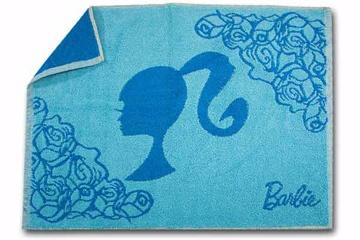 Barbie芭比【經典芭比浴墊_藍色】1入