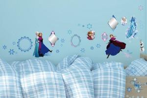 【itaste小品味】迪士尼GID018冰雪奇緣創意壁貼