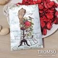 TROMSOx魅力法國-純真優雅掛勾大香氛包/百合