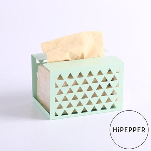 HiPEPPER簡約時尚面紙盒-蘋果綠