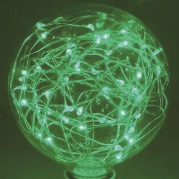 愛迪生LED創意復古滿天星銅線裝飾情境燈泡居家擺飾婚禮派對聖誕禮品生日禮物◆G95球形-綠色