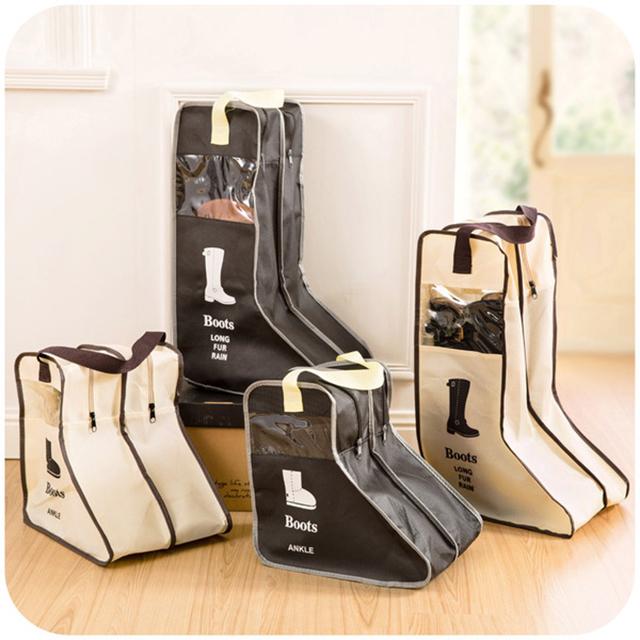 [fun bag]長短靴收納鞋袋 手提式 防塵袋 防塵套 靴子收納 輕巧方便 可摺好收