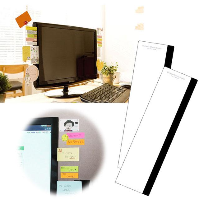 kiret韓國 電腦螢幕 便利貼 留言板(側邊)顯示器MEMO板備忘錄