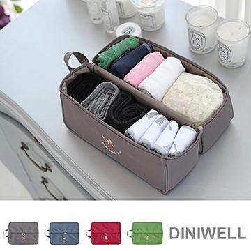 【JIDA】韓版DINIWELL多功能手提防水收納袋(4色)-灰色