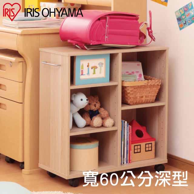 【IRIS OHYAMA】日本愛麗思開放式收納推車寬60公分系列(深型) SYR-6026