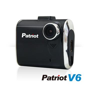 愛國者V6 新一代國民機 1080P 超夜視行車紀錄器(霧黑)