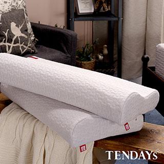 【TENDAYS】柔織舒壓枕(記憶枕 8cm+10cm) 2入組