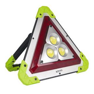 【KINYO】3合1多功能警示燈/工作燈/手電筒(218LED)