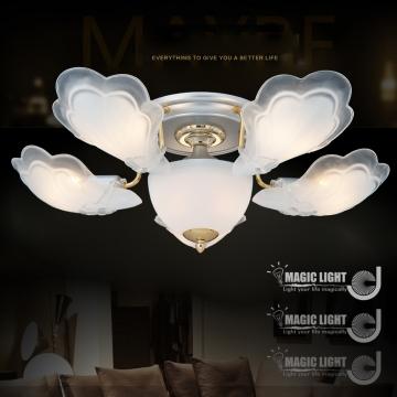 【光的魔法師 Magic Light】金天使 半吸頂五燈 臥室燈具 吸頂燈飾