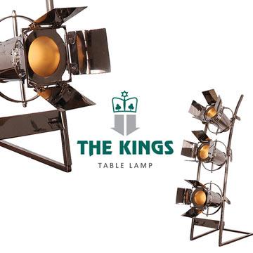 【THE KINGS】Rocker studio搖滾樂團攝影棚復古工業檯燈