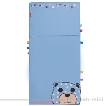 【ohoh-mini】智能IQ多功能嬰幼兒萬用床墊/遊戲墊(粉藍)